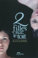 Couverture 2 filles sur le toit Editions Albin Michel (Jeunesse - Wiz) 2011