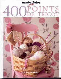 Couverture 400 points de tricot