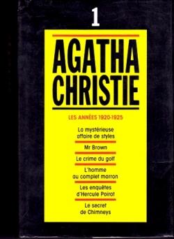Couverture Agatha Christie, tome 01 : Les Années 1920-1925