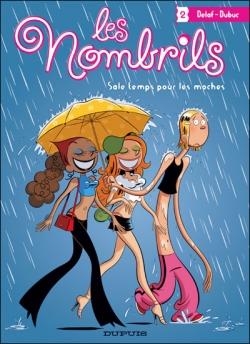Couverture Les Nombrils, tome 2 : Sale temps pour les moches