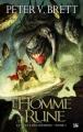 Couverture Le cycle des démons, tome 1 : L'homme rune Editions Bragelonne 2009
