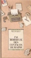 Couverture J'ai horreur des contacts humains ! Editions Gallimard  (Page blanche) 1987