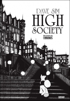 Couverture Cerebus, tome 1 : High Society