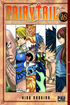 Couverture Fairy Tail, tome 18