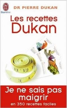 Couverture Les recettes Dukan