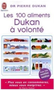 Couverture Les 100 aliments Dukan à volonté