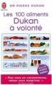 Couverture Les 100 aliments Dukan à volonté Editions J'ai Lu 2010