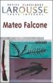 Couverture Mateo Falcone et autres nouvelles Editions Larousse (Petits classiques) 2000