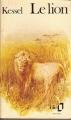 Couverture Le lion Editions Folio  1972