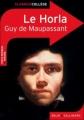 Couverture Le Horla et autres récits Editions Belin / Gallimard (Classico - Collège) 2011