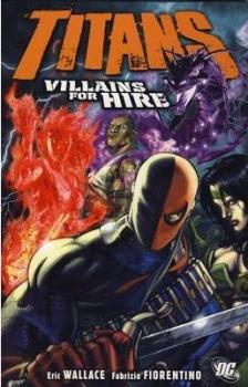 Couverture Titans, book 4 : Villains for Hire