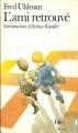 Couverture L'ami retrouvé Editions Folio  1988