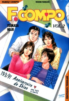 Couverture Family Compo, tome 02