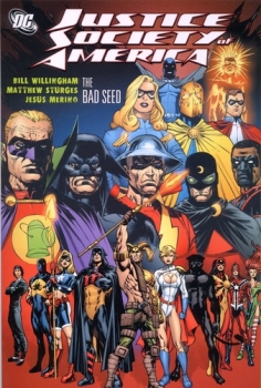 Couverture Justice Society of America, book 6 : The Bad Seed