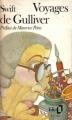 Couverture Les voyages de Gulliver Editions Folio  1976