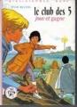 Couverture Le Club des Cinq joue et gagne Editions Hachette (Bibliothèque Rose) 1977