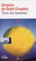 Couverture Terre des hommes Editions Folio  2010