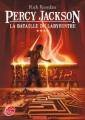 Couverture Percy Jackson, tome 4 : La Bataille du labyrinthe Editions Le Livre de Poche (Jeunesse) 2011