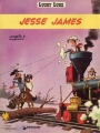 Couverture Lucky Luke, tome 35 : Jesse James Editions Dargaud 1975