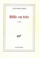 Couverture Bille en tête Editions Gallimard  (Blanche) 1986
