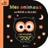 Couverture Mes animaux en noir et blanc Editions Nathan (Petit Nathan) 2011