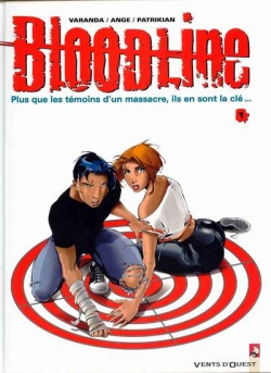 Couverture Bloodline, tome 1 : Lune rouge