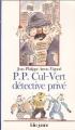 Couverture P.P. Cul-Vert détective privé Editions Folio  (Junior) 1993