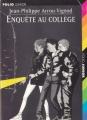 Couverture Enquête au collège Editions Folio  (Junior) 1997