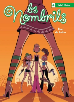 Couverture Les Nombrils, tome 4 : Duels de belles