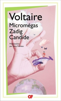 Couverture Micromégas, Zadig, Candide