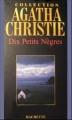 Couverture Dix petits nègres Editions Hachette (Agatha Christie) 1939