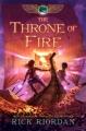 Couverture Les chroniques de Kane, tome 2 : Le trône de feu Editions Hyperion Books 2011