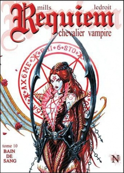 Couverture Requiem Chevalier Vampire, tome 10 : Bain de sang