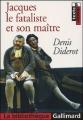 Couverture Jacques le fataliste  Editions Gallimard  (La bibliothèque) 2005