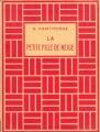Couverture La petite fille de neige : Conte d'hiver Editions Delagrave 1955
