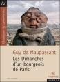 Couverture Les Dimanches d'un bourgeois de Paris Editions Magnard (Classiques & Contemporains) 2004