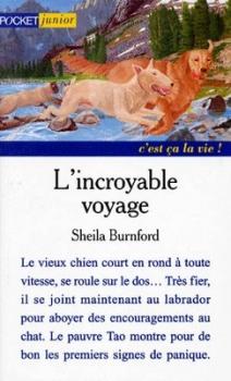 Couverture L'incroyable voyage