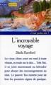Couverture L'incroyable voyage Editions Pocket (Junior - C'est ça la vie !) 1997