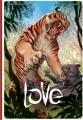 Couverture Love (BD), tome 1 : Le Tigre Editions Ankama (Étincelle) 2011