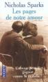 Couverture Les pages de notre amour Editions Pocket 1999