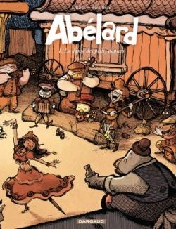 Couverture Abélard, tome 1 : La danse des petits papiers