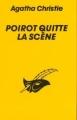 Couverture Hercule Poirot quitte la scène Editions du Masque 1986