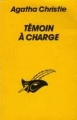 Couverture Témoin à charge Editions du Masque (Le masque) 1993