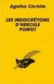 Couverture Les indiscrétions d'Hercule Poirot Editions Librairie des  Champs-Elysées  (Le masque) 1983