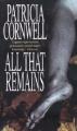 Couverture Kay Scarpetta, tome 03 : Et il ne restera que poussière... / Et il ne restera que poussière Editions Warner Books 1993