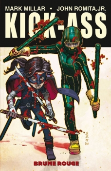 Couverture Kick-Ass, tome 2 : Brume Rouge