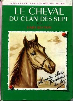 Couverture Le cheval du Clan des Sept