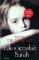 Couverture Elle s'appelait Sarah Editions France Loisirs 2006