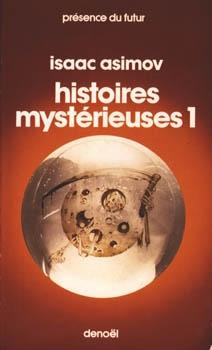 Couverture Histoires mystérieuses, tome 1