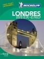 Couverture Londres Week-end Editions Michelin (Le Guide Vert) 2011